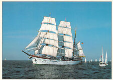 1996 TALL SHIP GORCH FOCK COLOUR POSTCARD CANCELLED KIEL WEEK GERMANY