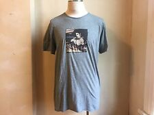 DOLCE & GABBANA GREY SOFT COTTON MADONNA LIKE A VIRGIN PRINT T SHIRT S 56 2XL