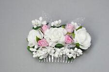 (043) Haargesteck Kopfschmuck Kommunion Blumenmädchen Hochzeit Kommunionschmuck