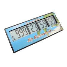 Digital Countdown Timer Clock  Alarm 999 Days 23 hours 59 minutes 59..Retirement