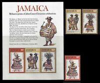 JAMAICA. John Canoe Christmas celebration. 1976 Scott 416-418a.  MNH (BI#38)