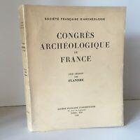 Congresso Archeologico Di Francia 120e Session 1962 Di Fiandre