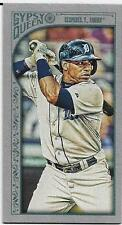 2015 GYPSY QUEEN MINI SILVER #108 YOENIS CESPEDES 15/199 TIGERS FREE SHIPPING