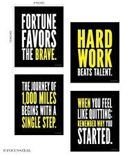 Success Motivational Inspirational Happiness Decorative Poster Print for Goals 8