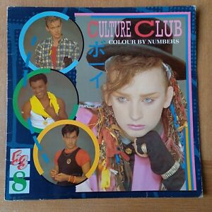 Culture Club Colour By Numbers - Vinyl LP  Virgin V2285 with foldout insert