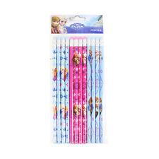 New Disney Frozen Princess Anna & Elsa School Supplies 12pcs Set Pencils