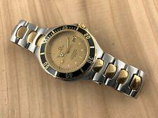 Omega Vintage Seamaster Pro 200 M Quartz 38mm Stainless Steel/14K Men's Watch