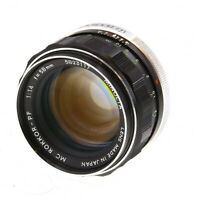 Minolta 58mm F/1.4 Rokkor-PF MC Mount Manual Focus Lens {55} - UG