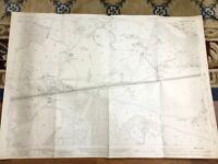1931 Mappa Antica Di Hampshire Bramshot Golf Club Clodden Foro Ancels Copse
