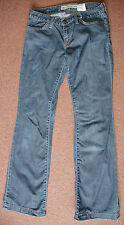 New 8 Gap Long & Lean Blue Light weight Cotton Jeans Trousers Tall boot cut
