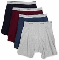 Fruit of the Loom Men's Boxer Briefs (Pack of 4) Size Medium