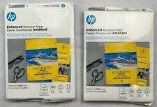 Lot of 2 HP Enhanced Laser Glossy FSC Paper 150 gsm-150 sht/Letter/8.5 x 11 in