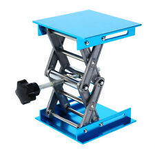 4 Laboratory Lifting Platform Stand Rack Scissor Jack Bench Lifter Table Lab