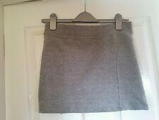 Zurdos (Zara Outlet) Mini Falda. Gris. tamaño mediano (M) Elástico