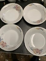 Anatole Fine Porcelain China Made In Japan Soup Cereal Bowls Lot Of 4