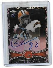 """2012 Topps Chrome Travis Benjamin RC Auto Camo Refractor/105  """"SD-Chargers"""""""