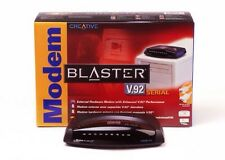 New Creative Modem Blaster 56K V.92 Serial External Modem