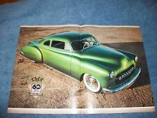 "1949 Chevy Sport Coupe Custom Article ""The Devil's Lettuce"" Led Sled"