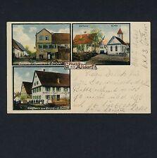 ALTDORF OA Esslingen / Bäckerei Belser & Gasthaus Hirsch v L Handle * AK um 1910