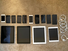 Lot of 14 iOs Devices [6x iPhone, 4x iPad, and 4x iPod Touch]