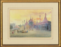 Rodney Pearce (b.1941) - Signed and Framed Watercolour, Brighton Pavilion