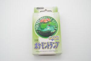 Sealed New Pokemon Playing Cards Poker Deck Green Venusaur 1998 Nintendo