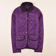 Barbour Damen Jacke Jacket Steppjacke Gr.34 Vintage Quilt Lila 79710