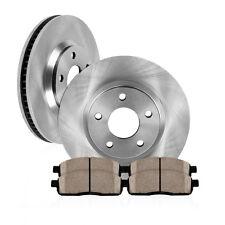 Front Brake Rotors And Ceramic Pads Honda Accord Civic CR-V Element Coupe Sedan
