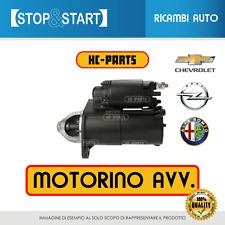 MOTORINO AVVIAMENTO ALFA 159/OPEL ASTRA H-ZAFIRA 12V-1.1KW BENZINA 1.6-1.8