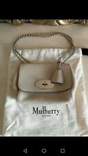 Mulberry Lily Nude Small Classic Grain Leather Bag