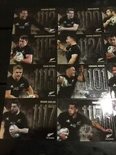 All Blacks Player Number Full Card Set All 16 Cards