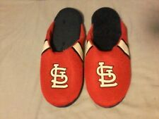 New St. Louis Cardinals Lounge Shoes Size XL, Slippers