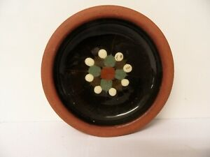 Tenby Studio Pottery Dish / Pin Dish Welsh Pottery - signed - Vintage / Retro