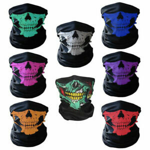 Bandana Novel Skull Ski Bike Motorcycle Helmet Neck Face Mask Scarf Headband