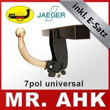 7-pol E-Satz Jeep Wrangler JK ab 2007 Anhängerkupplung starr