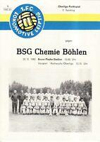 OL 80/81 1. FC Lok Leipzig - BSG  Chemie Böhlen