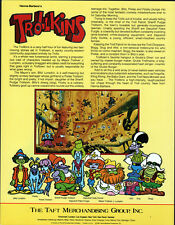 Hanna Barbera STYLE GUIDE PLATE - The TROLLKINS