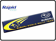 SUBARU WORLD RALLY TEAM STI WRX CMR BADGE EMBLEMA Logo adesivo avvio tronco auto 89