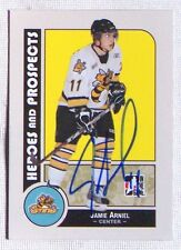 Jamie Arniel Sarnia Sting 2008-09 In The Game Heroes & Legends Signed Card #46