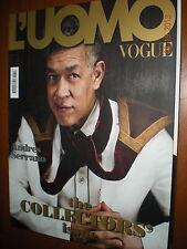 L'Uomo Vogue.ANDRES SERRANO,JEAN-PAUL FAVAND, PIERRE APRAXINE, ROLF FEHLBAUM,xxx