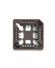 10pc PLCC SMT SMD IC Socket 20P pitch=1.27mm Tin plated Color= Brown RoHS Taiwan