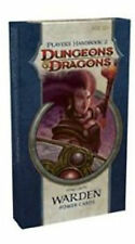 Dungeons & Dragons Players Handbook 2 Warden Cards New