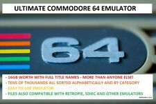 Commodore 64/C64 Emulator - Ultimate Collection 16GB of Games, Demos and More!