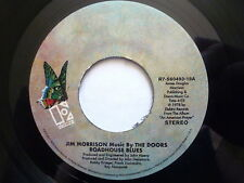 "JIM MORRISON WITH MUSIC BY THE DOORS 45 RPM 7"" - Roadhouse Blues 2017 RE-ISSUE"