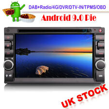 Android 9 DAB Radio CD Head Unit GPS SatNav BT for Nissan Navara D40 Qashqai J10