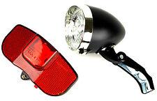 3 LED 's bicicleta lámparas set bicicleta iluminación reflector + baterías Bike Parts