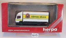 Herpa 1/87 187411 Mercedes Benz Atego LKW Koffer Küppers Kölsch OVP #6219