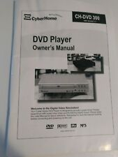 CyberHome DVD Player CH-DVD 300 Owners Manual Only English / Spanish
