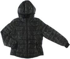 adidas NEO Women's Utility Lightweight Down Hooded Jacket - 2XS - Black - New