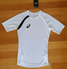 BNWT - ASICS Men's ATHLETIC Tee / T-Shirt / Top - WHITE / Size: Extra Small XS
